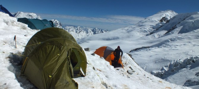 Climbing Mera Peak in Nepal (+- 6450m)