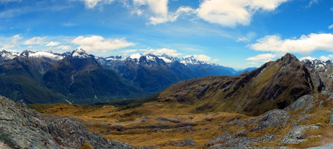 Tramping New Zealand: Aspiring, Milford and Routeburn